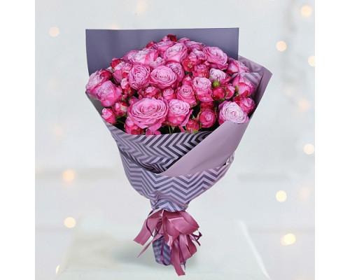 21 роза Бомбастик